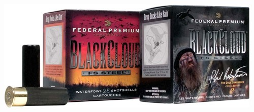 "Fed Ammo Black Cloud 12ga 3.5"" 1500fps. 1.5oz. #4 25-pack"