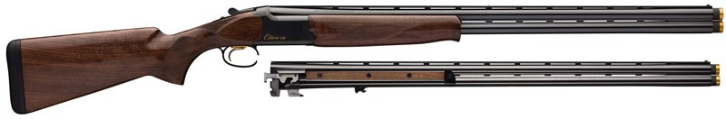 """Browning Citori Cxs Combo 12/20ga 3"""" 30""""vr Invds-3 Blued Grii Wal"""