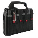 GPS AR Magazine Tote Holds 8-Ar Style Mags Black