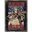 """Rivers Edge Embossed Sign 12""""x17"""" """"arms Change"""""""