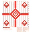 Champion Target Paper Redfield Style Sight-In 100-Pack