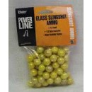 """Daisy Slingshot Ammuntion 1/2"""" Glass 75-Count Pack"""