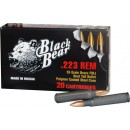 Black Bear .223 Remington 55gr Fmj Brass Leadcore Bullet 20p