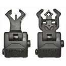 Diamondhead USA Polymer Sight Set Front And Rear Flip-Up Black