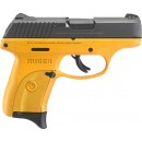 """Ruger LC9S 3.12"""" Barrel As 7-Shot Contractor Yellow Cerokte Frame 9mm"""