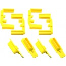 Hexmag Hexid Yellow 4 Pack Color Id System