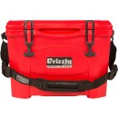Grizzly Coolers Grizzly G15 Red/red 15 Quart Cooler