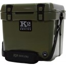 K2 Coolers Summit Series 20 Qt Duck Boat Green