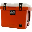 K2 Coolers Summit Series 30 Qt Coll Series Orange/white Lid