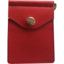 Concealed Carrie Compac Wallet Red Leather