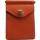 Concealed Carrie Compac Wallet Pumpkin Leather