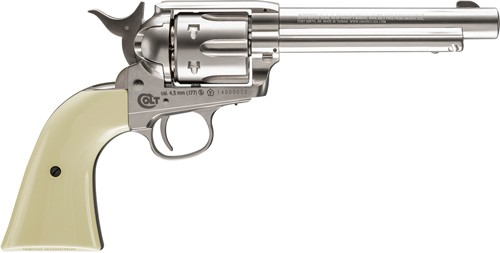 Umarex Colt Saa Peacemaker Air Pistol .177/bb Co2 Nickel