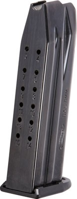 Walther Magazine P99/ppq 9mm Luger 15-rnds Blued Steel