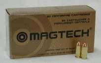 Magtech Ammo .40SW 180Gr. FMJ-Flat Point 50-Pack