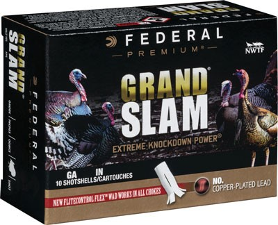 "Federal Cartridge Ammo Grandslam 20ga. 3"" 1 5/16oz. #5 10-pack"