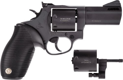 "Taurus 692 38/357/9mm 3."" Adj. 7-shot Ported Matte Blk Ribbe"
