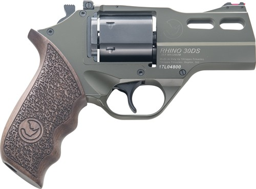 "Chiappa Rhino 30ds .357mag 3"" Adj. Sight Odg/walnut"
