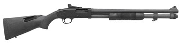 "Mossberg 590A1 12GA.3"" 9-Shot 20""Cyl Ghost Ring Park. Syn"