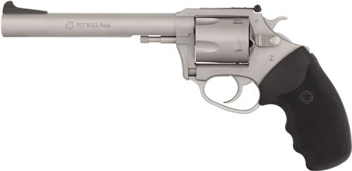 """Charter Arms Arms Pit Bull 9mm 6"""" Adj S/s"""