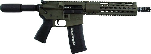 "Diamondback M4 Pistol .223 10.5"" Od Green 30-sh No Sights"