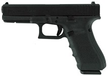 Glock 19 Gen-4 Fixed Sights 15-Shot Black 9mm