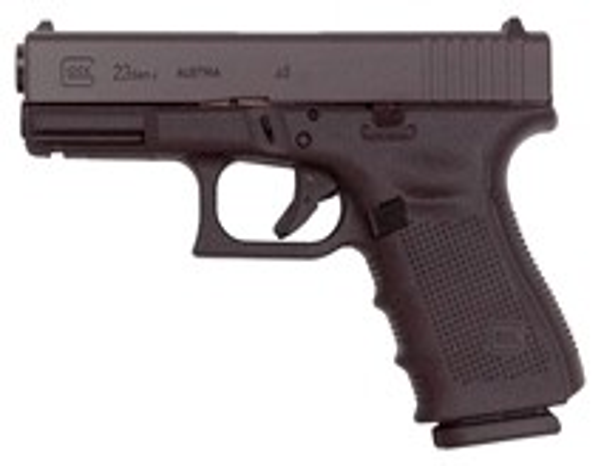 Glock 23 Gen-4 Fixed Sights 13-Shot Black 40 S&W