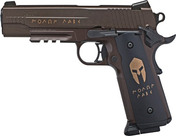 Sig Air-1911bb-spartan .177bb 12gr.co2 16rd Black Air Pistol