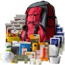 Wise 5 Day Survival Pack In Red Backpack