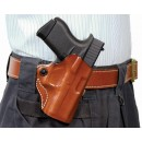 Desantis Mini Scabbard Holster Rh Owb Leather Ruger Lc9 Tan