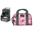GPS Double Compact Pistol Case Pink Camoflage Nylon