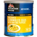Mountain House #10 Can Scrambled Eggs W/ Ham 15 Servs