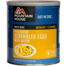 Mountain House #10 Can Scrambled Eggs W/ Bacon 13 Sev