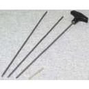 Hoppes Cleaning Rod .177 Cal. 3-Pc Rifle/Airgun S/S