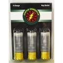 "Exotic Hog Buster 12 Ga 2 3/4"" 1 Oz Slug & 6-00 Buck 3-pk"