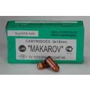 Brown Bear 9x18MM Makarov 94Gr. FMJ-RN 50-Pack