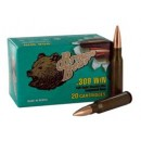 Brown Bear .308 Winchester 145Gr. Full Metal Jacket 20-Pk