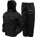 Frogg Toggs Rain & Wind Suit All Sports Large Blk/blk