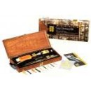 Hoppes Deluxe Gun Cleaning Kit W/Wood Storage Case