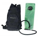 Drago Gear Hydration Pack Black W/3-Liter Water Bladder