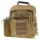 Drago Spec Combat Backpack Tan Adj. Padded Single Sling Stra