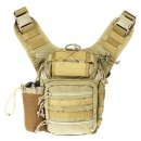 Drago Ambidextrous Shoulder Tn Pack Backpack Tan