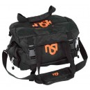 DKG Trading Range Bag With Nsi Orange Logo Black Nylon