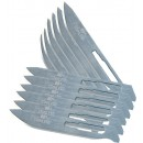Havalon Knives #60a Stainless Steel Replacement Blades 12 Pk