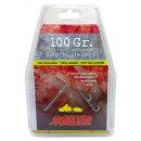 """Swhacker Replacement Blades 2-Blade 100GR 2"""" Cut 6/Pk"""