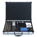 DAC Dlx Universal Cleaning Kit W/Aluminum Case 61 Pcs.