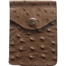 Concealed Carrie Compac Wallet Ostrich Print