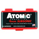 Atomic Ammunition 9MM Luger Subsonic 147Gr. Bonded JHP 50-Pack
